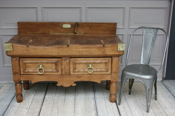 Incredible Antique Butchers Block Table Pdpeps Interior Chair Design Pdpepsorg