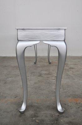 Consolle In Alluminio.Consolle In Alluminio Verniciato Legno E Abete Di Atelier Borella