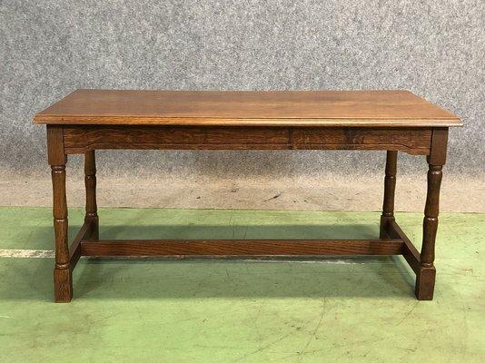 Vintage Oak Coffee Table 1950s