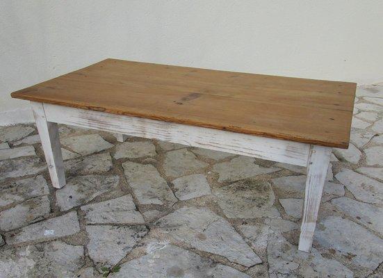 Grande Table Basse Antique