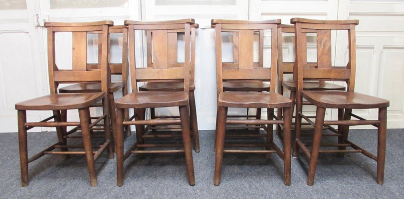 Antique Dining Chairs Set Of 8 For