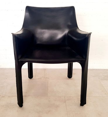 Groovy Leather Cab 413 Dining Chairs By Mario Bellini For Cassina 1980S Set Of 8 Ocoug Best Dining Table And Chair Ideas Images Ocougorg