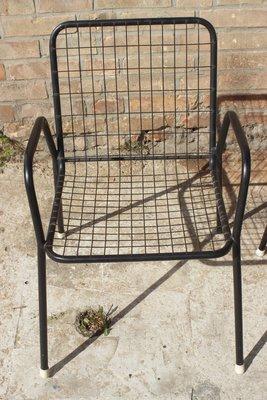 Emu Sedie Da Giardino.Sedie Da Giardino Rio Impilabili Di Emu Anni 70 Set Di 2 In