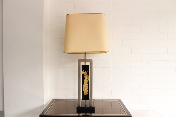 Vintage Table Lamp By Philippe Cheverny