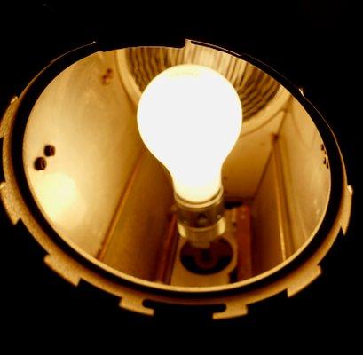 Vintage Theatre Tripod Spotlight Floor Lamp From Scher 1950s