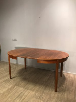 Vintage Teak Fold Out Dining Table
