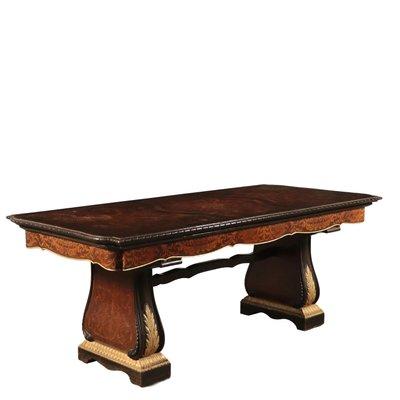 Vintage Italian Inlaid Dining Table