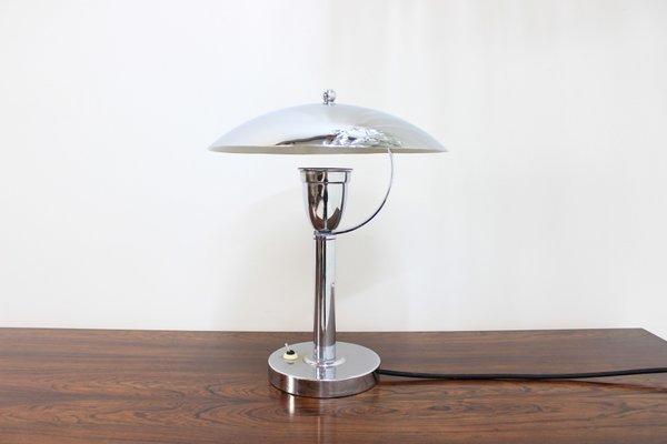 Chrome Bauhaus Table Lamp 1930s For, Bauhaus Table Lamp