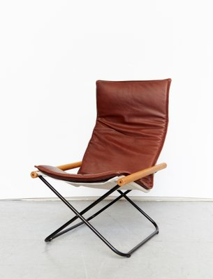 Awesome Nychairx Folding Chair And Ottoman By Takeshi Nii 1970S Ocoug Best Dining Table And Chair Ideas Images Ocougorg