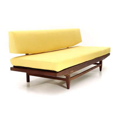 Terrific Italian Yellow Wooden Sofa Bed 1960S Onthecornerstone Fun Painted Chair Ideas Images Onthecornerstoneorg