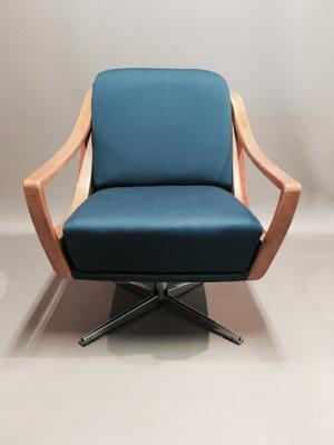 Groovy Modern Ash Swivel Chair 1950S Creativecarmelina Interior Chair Design Creativecarmelinacom