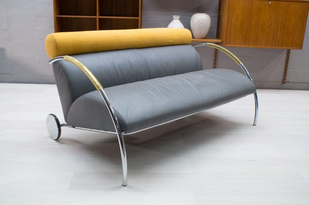 Leather Sofa By Peter Maly For Cor