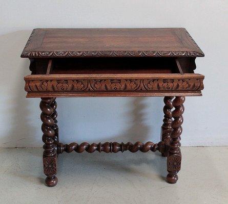 Kleiner Vintage Schreibtisch Aus Eiche Bei Pamono Kaufen