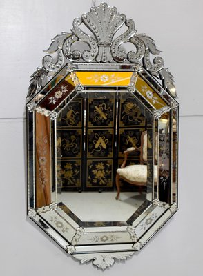 Vintage Venetian Mirror For Sale At Pamono