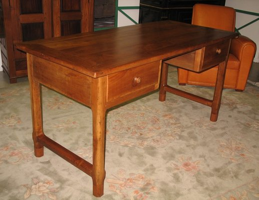 Antique Cherry Desk For At Pamono