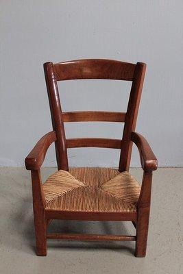 chaise d enfant ancienne en bouleau