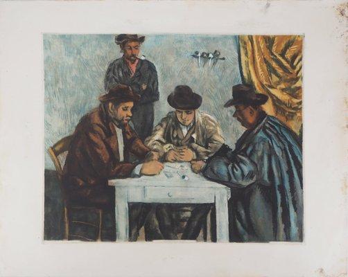 Six C/ézanne Cards