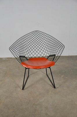 Terrific Vintage Diamond Lounge Chair By Harry Bertoia For Knoll Inc Knoll International Alphanode Cool Chair Designs And Ideas Alphanodeonline