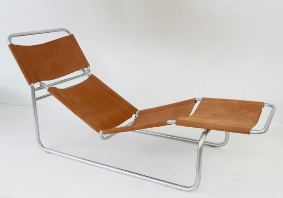 Tremendous Vintage Chrome And Leather Lounge Chair Theyellowbook Wood Chair Design Ideas Theyellowbookinfo