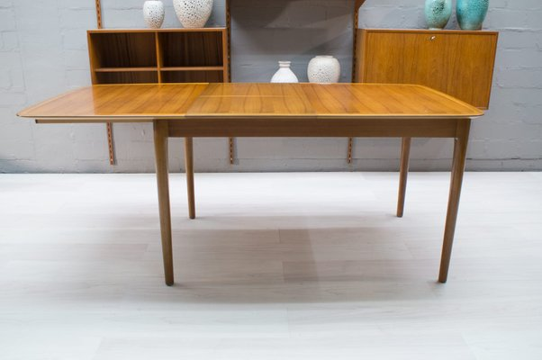 Large German Extendable Dining Table From Lubke 1960s For Sale At Pamono