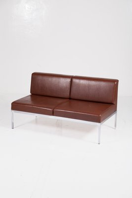 Awe Inspiring Chrome And Leatherette Sofa By Kho Liang Ie For Artifort 1950S Caraccident5 Cool Chair Designs And Ideas Caraccident5Info