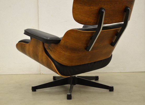 Peachy Vintage Lounge Chair And Ottoman Set By Charles Ray Eames For Vitra Gamerscity Chair Design For Home Gamerscityorg