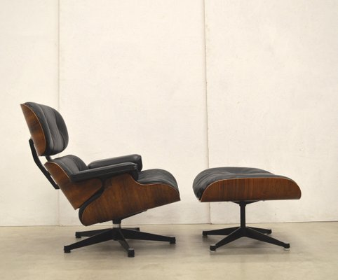 Peachy Vintage Lounge Chair And Ottoman Set By Charles Ray Eames For Vitra Short Links Chair Design For Home Short Linksinfo