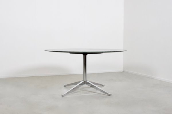 Mid Century Green Marble Dining Table By Florence Knoll Bassett