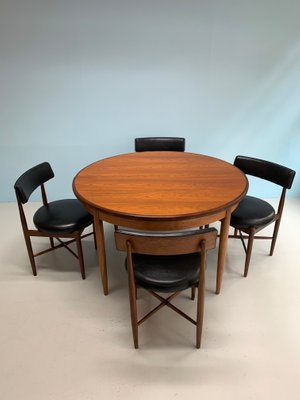 Fine Dining Table Chairs Set By Victor Wilkins For G Plan 1960S Set Of 5 Creativecarmelina Interior Chair Design Creativecarmelinacom