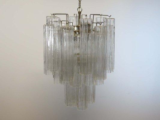 Vintage Italian Murano Glass Chandelier, 1960s
