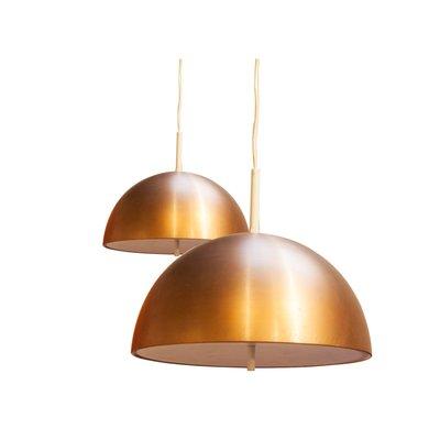 Mid Century Modern Metalic Ceiling Lamp