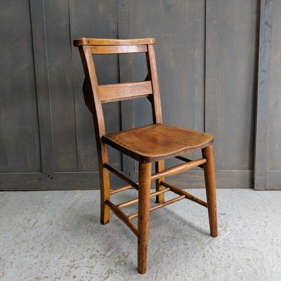 Awesome Vintage Elm And Beech Church Chairs 1920S Set Of 4 Camellatalisay Diy Chair Ideas Camellatalisaycom