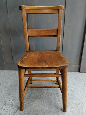 Amazing Vintage Elm And Beech Church Chairs 1920S Set Of 4 Camellatalisay Diy Chair Ideas Camellatalisaycom
