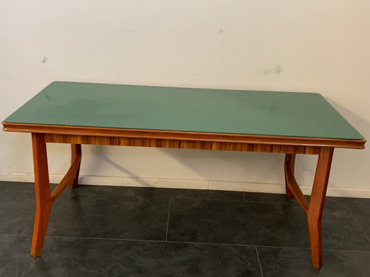 Rosewood And Cherry Wood Dining Table 1950s For Sale At Pamono