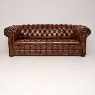 Marvelous Victorian Style Leather Sofa 1930S Camellatalisay Diy Chair Ideas Camellatalisaycom