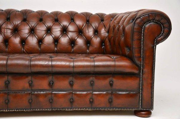 Groovy Victorian Style Leather Sofa 1930S Frankydiablos Diy Chair Ideas Frankydiabloscom