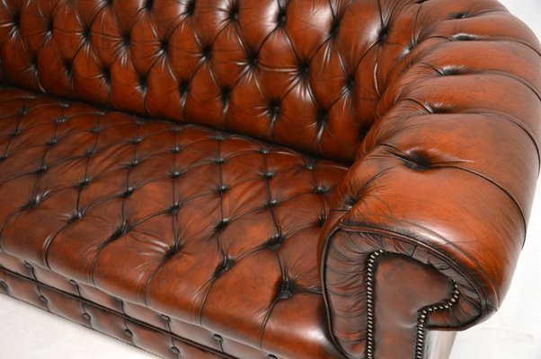 Magnificent Victorian Style Leather Sofa 1930S Frankydiablos Diy Chair Ideas Frankydiabloscom