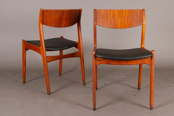 Danish Teak Dining Chairs From Soro Stolefabrik 1960s Set Of 2 For Sale At Pamono