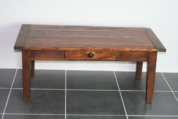 Vintage Rustic Coffee Table 1930s