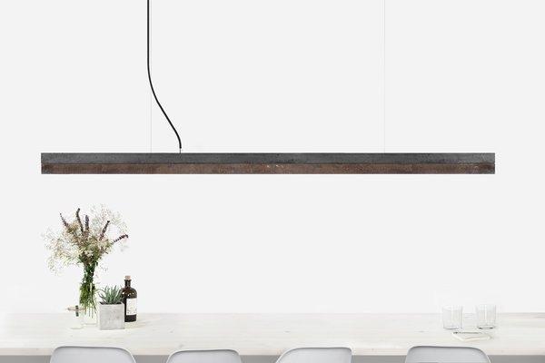 C3 Concrete Corten Steel Pendant Light For Sale At Pamono