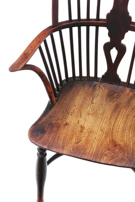 Excellent Antique Yew And Elm Windsor Dining Chair Bralicious Painted Fabric Chair Ideas Braliciousco