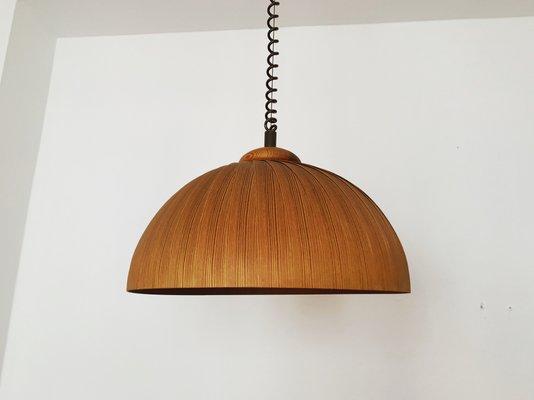 Schwedische Deckenlampe Aus Holz 1960er Bei Pamono Kaufen