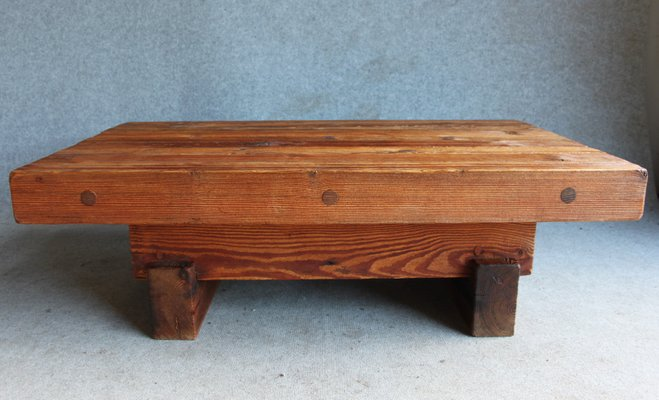 Pine Coffee Table By Jens Lyngsøe For