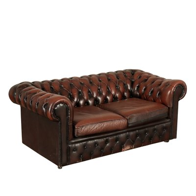 Italian Chesterfield Sofa 1950s For