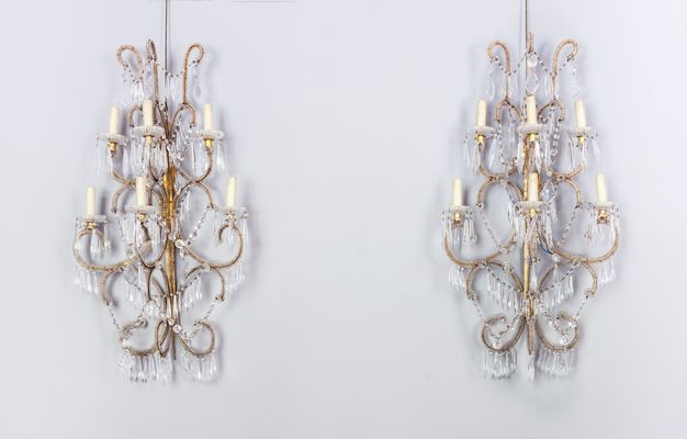 Lampade da parete antiche repubblica ceca set di in vendita su
