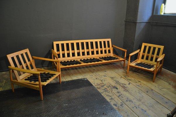 Catalogo Ikea Sedie E Poltrone.Divano Kolding E Poltrone Di Ikea Anni 60 Set Di 3 In Vendita