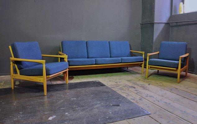 Kolding Sofa & Sessel von Ikea, 1960er, 3er Set