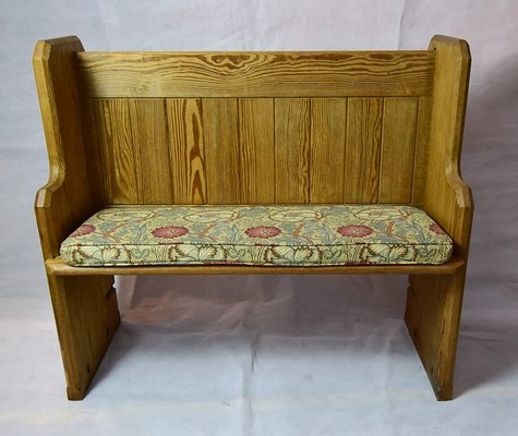 Antique Victorian Church Pew For