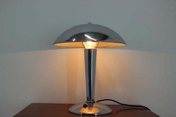 Lampe de Bureau en Chrome, années 30