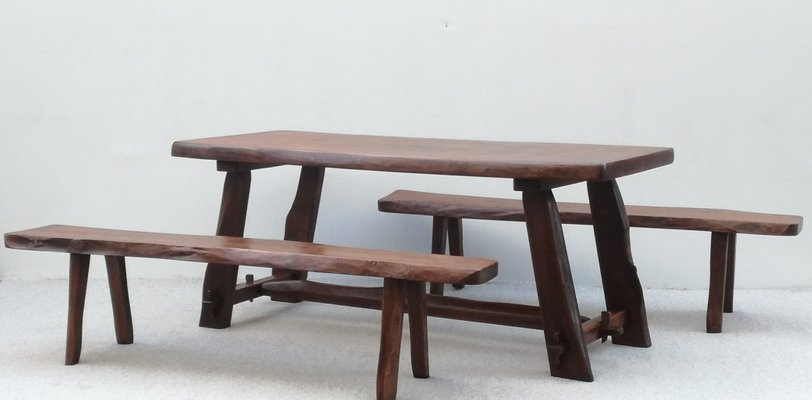 Dining Table Chairs Set By Olavi Hanninen For Mikko Nupponen
